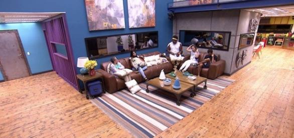 Formação de paredão (Foto: Reprodução/TV Globo)