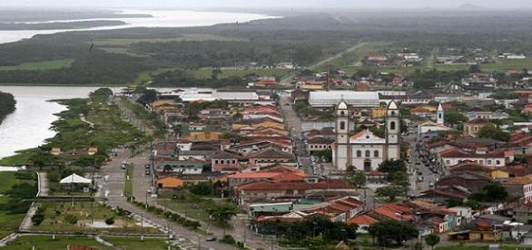 Imagem da cidade de Iguape, interior de São Paulo