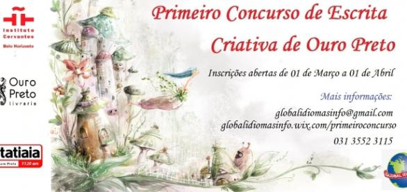 Primeiro Concurso de Escrita Criativa