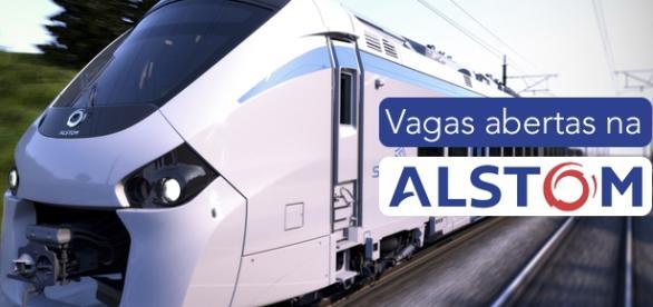 Vagas na Alstom - Foto: Reprodução Alstom