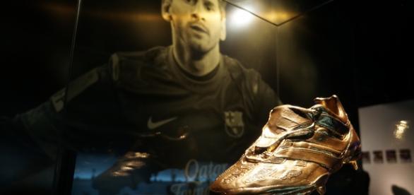 Bota de Oro ganada por Leo Messi