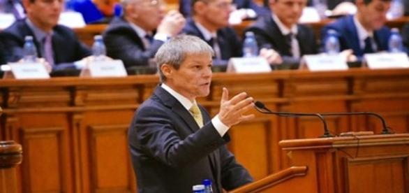 Primul ministru român în Parlamentul României