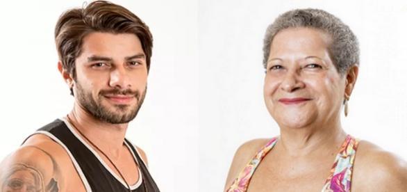 Renan e Geralda disputam a preferência do público