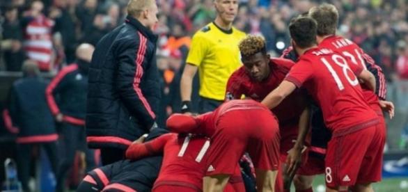 Bayern Munique afastou a Juventus no prolongamento