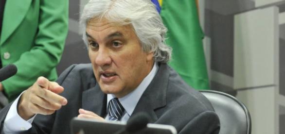 Delcídio do Amaral atuando como senador