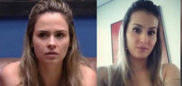 Ex de Renan é comparada a Ana Paula Renault