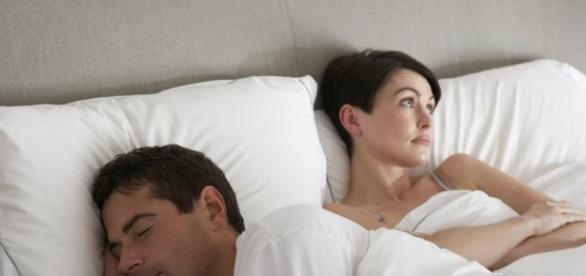 La pareja se ve afectada por el escaso sueño