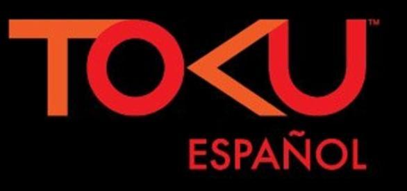 Logotipo del próximo canal Toku en español