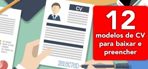 Modelos de currículo para baixar e preencher