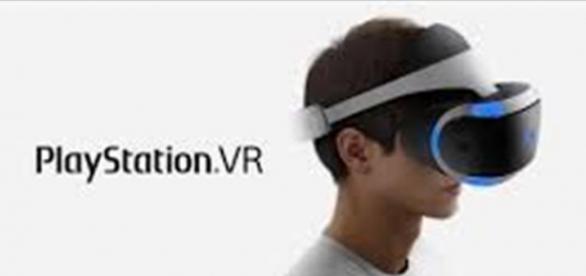 Playstation virtual reality device
