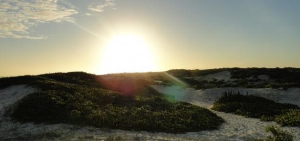 Pôr do Sol na praia da Figueira