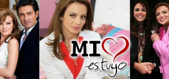 Silvia é uma grande estrela na Televisa.