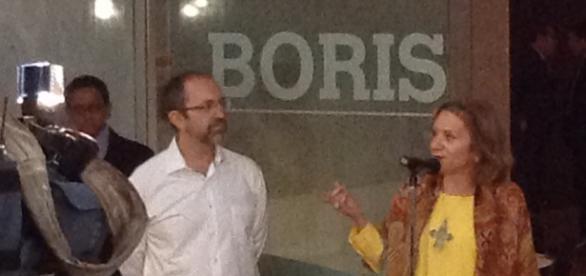 Boris Viskin en el Museo de Arte Moderno