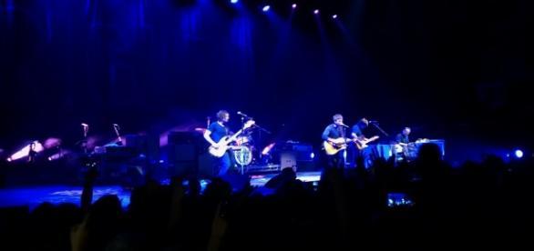 Noel Gallagher el pasado miércoles en el Luna Park