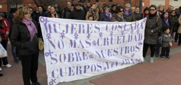 Spaniolii au ieșit în stradă din cauza unei crime
