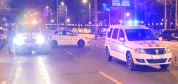 Urmărire cu focuri de armă în Capitală
