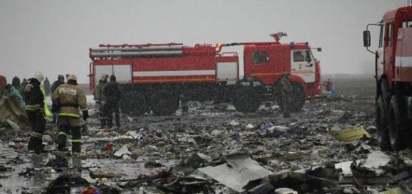 62 pessoas morreram na queda de um avião na Rússia