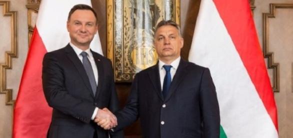 Andrzej Duda i Viktor Orban zapowiadają współpracę
