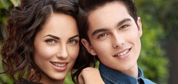 Barbara Mori e seu filho Sergio Mayer Mori