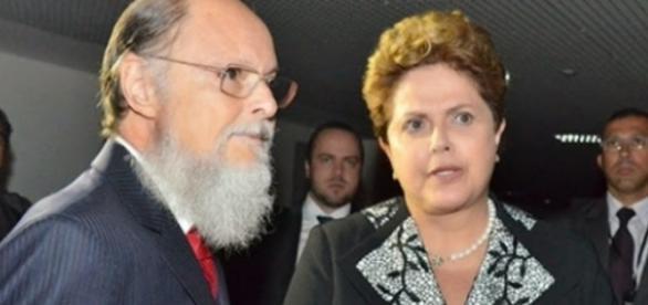 Edir Macedo e Dilma Rousseff - Foto/Reprodução