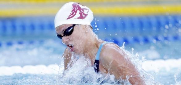 Iulia Efimova, sportiva prinsă dopată