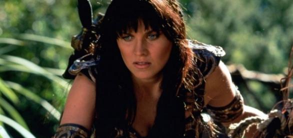 Lucy Lawless en Xena: la princesa guerrera