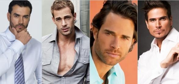 William Levy e David Zepeda fizeram Sortilégio.