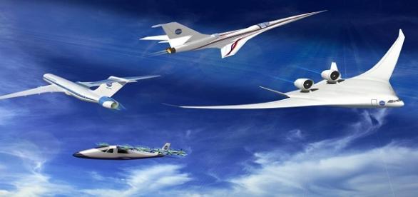 Fotografía de Aviones Supersónicos