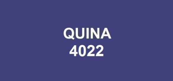 Prêmio de R$ 9 milhões sorteado na Quina 4022.