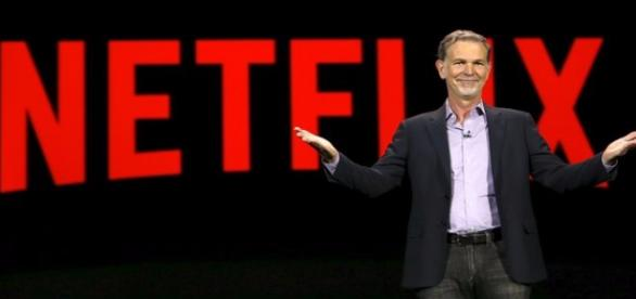 Reed Hastings é CEO do Netflix