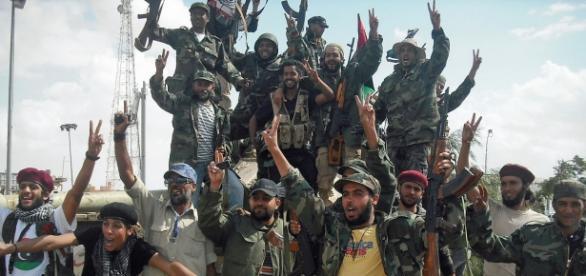 Ribelli libici dopo la presa di Beni Walid