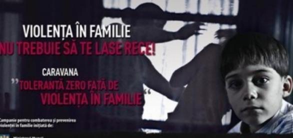 Spune STOP violenței domestice