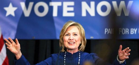 Super Tuesday, la soddifazione di Hillary Clinton