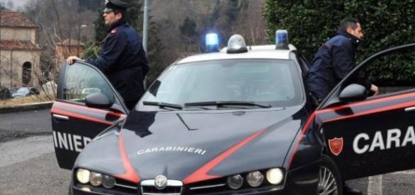 Carabinierii au descoperit un nou-născut abandonat