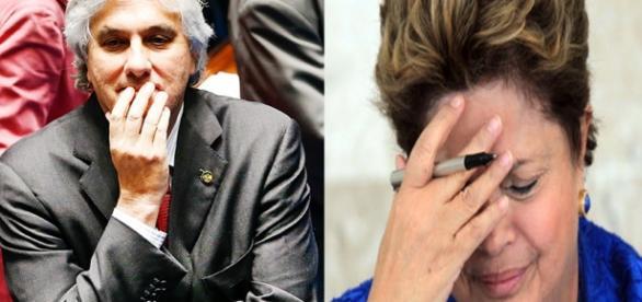 Delcídio diz que Dilma se beneficiou do esquema