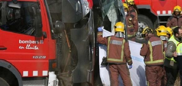 Grav accident de autocar în Spania