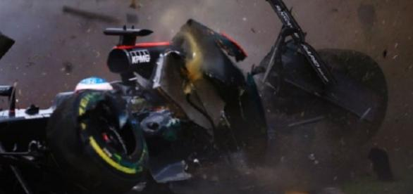 Grav accident în Formula 1. Ghinionist: Alonso