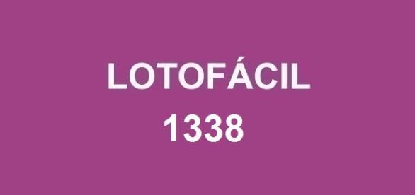 Lotofácil 1338 sorteia prêmio de R$ 2 milhões.