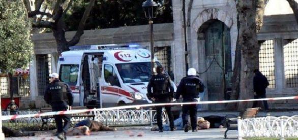 Un român a asistat la atentatul din Instambul