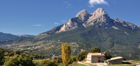 Gósol, ubicado en las faldas del Pedraforca