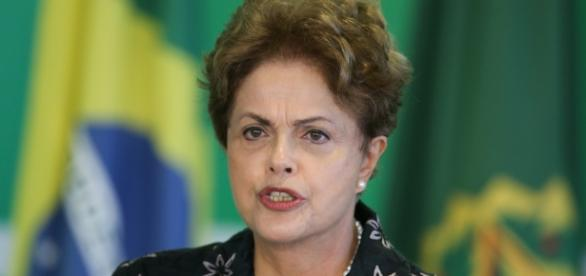 Presidente do Brasil Dilma Rousseff.