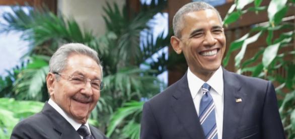Raúl Castro e Barack Obama têm pequenas diferenças para resolver