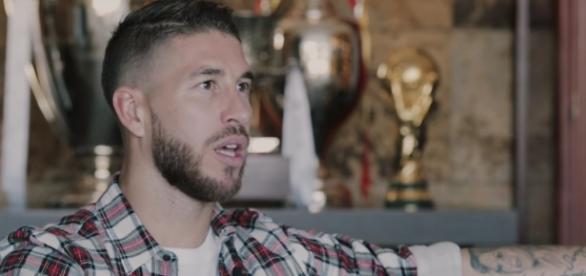 Sergio Ramos en su documental.