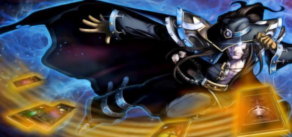 Twisted Fate PAX, aspecto exclusivo de LoL