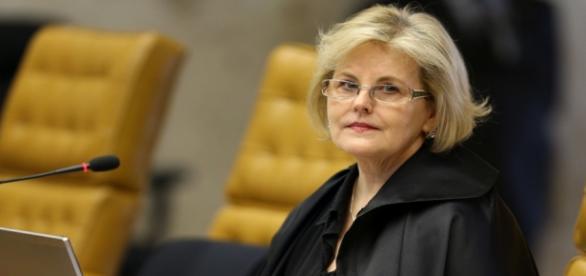 A ministra e relatora do STF Rosa Weber