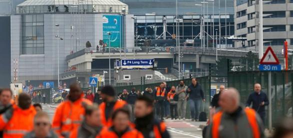 Atentado terrorista no aeroporto de Bruxelas