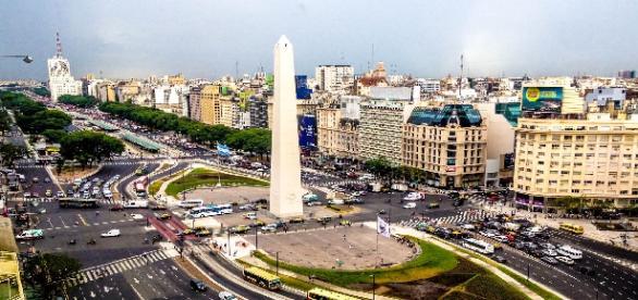 Buenos Aires en su visita aérea
