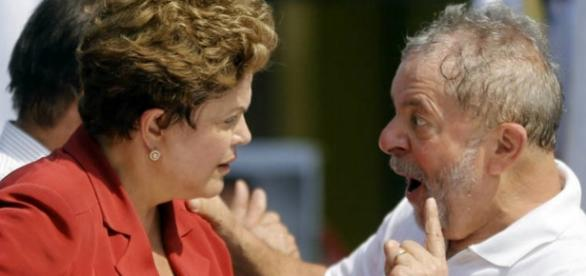 Dilma e Lula estão acuados - Foto/Reprodução