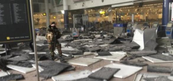Explosão no aeroporto de Bruxelas