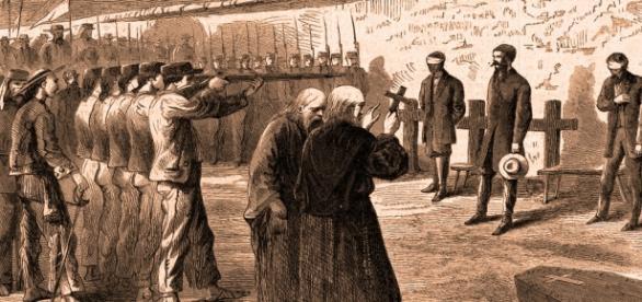 Fusilamiento de Maximiliano de Habsburgo